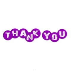 Thank You - Purple